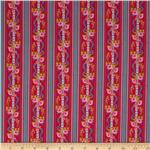 Happy Land Martha Stripe Red