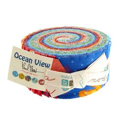 "Moda Ocean View 2 1/2"" Jelly Roll"