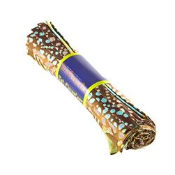 Indian Batik Fat Quarter Turquoise/Brown