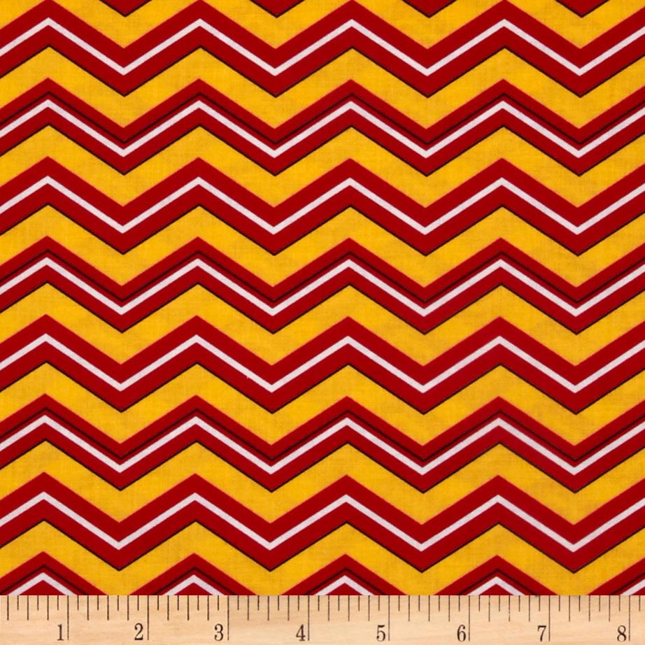 Superhero Chevron Flame
