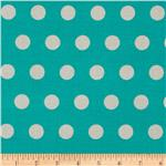 0270399 Michael Miller Textured Basics Cool Dots Teal