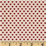 226508 Victorian Paper Dolls Hearts Red