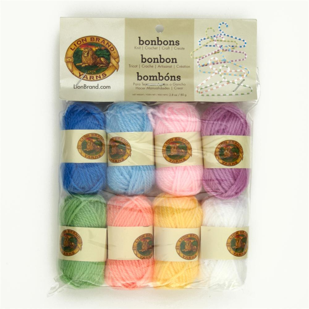 Lion Brand BonBons Yarn Pack Pastels