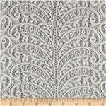 0291342 Designer Lace Paisley Cream