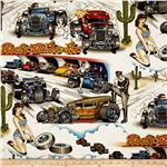 0264637 Drag Race Cars Multi