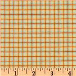 Fox Trails Flannel Plaid Orange