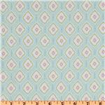FB-033 Michael Miller Bella Butterfly Medallions Aqua