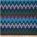 Michael Miller Beadwork Blanket Chevron Jewel
