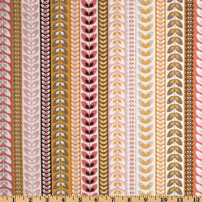 Riley Blake Daisy Cottage Stripe White