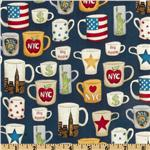 NYC Mugs Blue