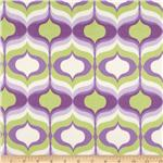 Waverly Hourglass Twill Violet