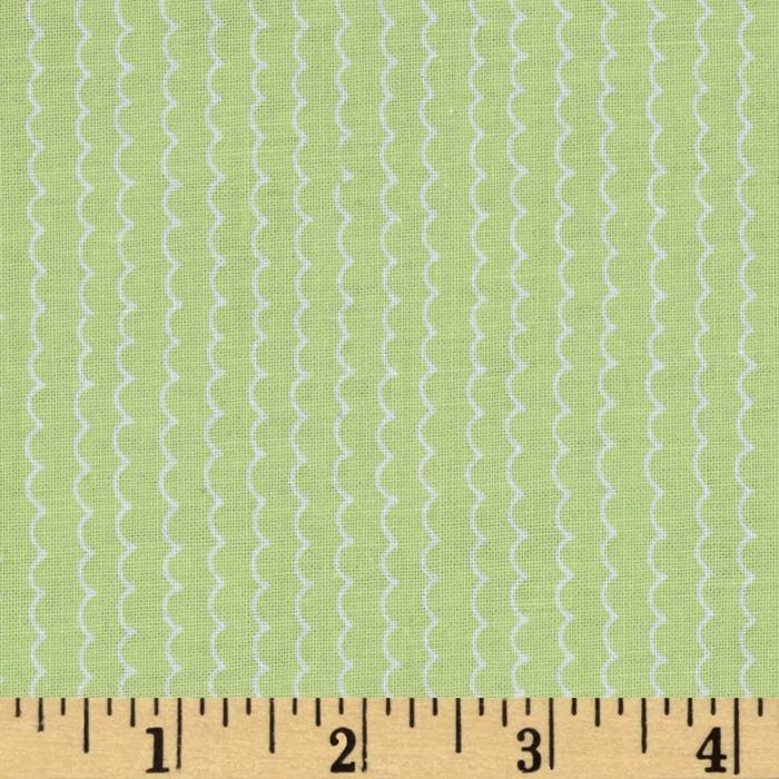 Baby Buddies Wavy Stripe Green