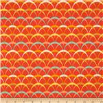 227749 Frippery Scallopes Orange