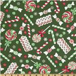 FO-032 Merry Christmas Candy New Green