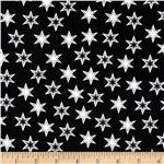 0277506 Stars Black/White