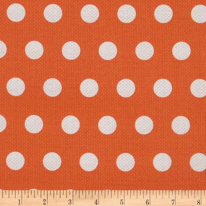 Michael Miller Textured Basics Cool Dots Papaya