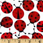 EL-172 Urban Zoologie Ladybugs Red
