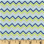 0271488 Alpine Flannel Basics Chevron Multi/Boy