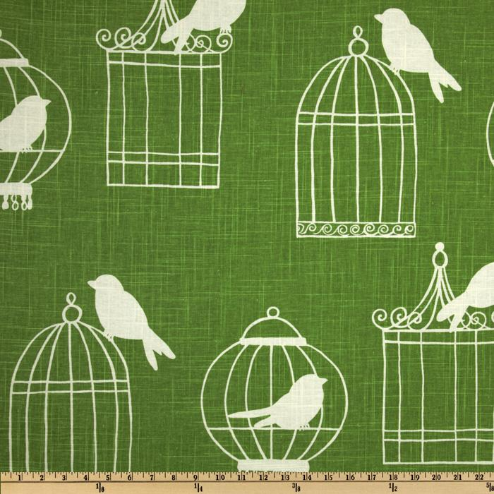 Duralee Birdcage Green
