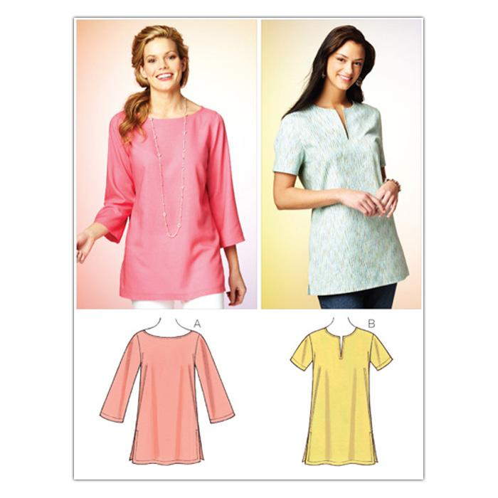 Kwik Sew Misses Tunic and Top (3870) Pattern