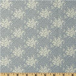Moda Collection For A Cause Mill Book Series circa 1835 Crackle Floral Cornflower