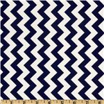 FT-365 Riley Blake Chevron Small Navy