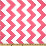 FT-473 Riley Blake Chevron Large Hot Pink