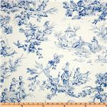 UL-741 Covington Musee Toile Blue