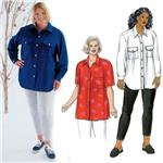 Kwiks Sew Shirts &amp; Leggings Plus Size Pattern