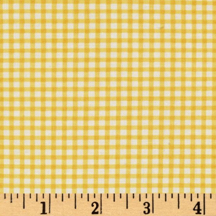 Gingham Safari Gingham Yellow