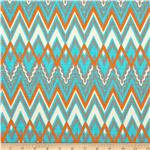 0278305 Premier Prints Savvy Mandarin/Natural