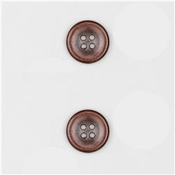 Dill Buttons 11/16'' Full Metal Button Copper