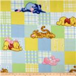 Disney Pooh&#39;s Days of Honey Patch Fleece Pastel
