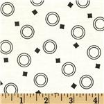 Dynamic Duos Circle Squares White