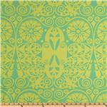 Amy Butler Home Décor Soul Blossoms Twill Passion Temple Doors Grass