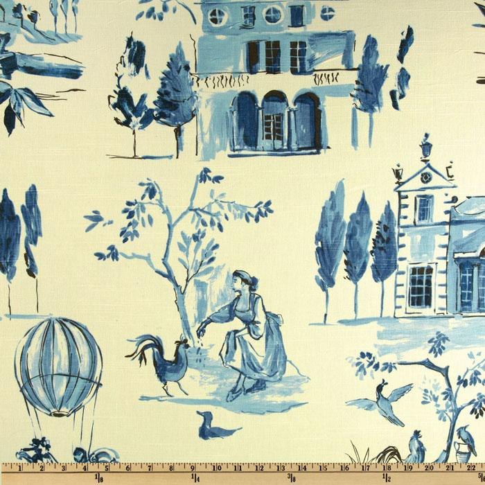Home Accents Villa Toile Colony Blue