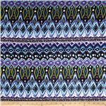 0280086 Runway Pizzaz Ikat Purple