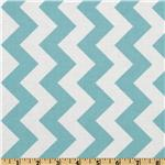 FO-212 Riley Blake Chevron Medium Aqua