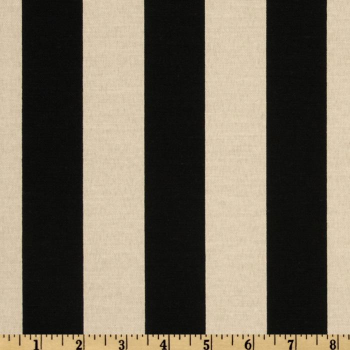 Maco Indoor/Outdoor Bouquet Stripe Black/Beige