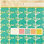 "Anna Griffin Riley 12"" X 12"" Designer Scrapbook Diecut Sheets"