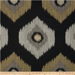 Swavelle/Mill Creek Del Ray Ikat Jacquard Eclipse