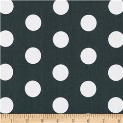Let's Play Dolls Medium Dots Grey