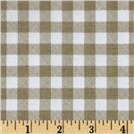 232968 Riley Blake Polka Dot Stitches Gingham Grey