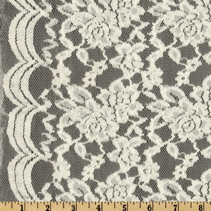 Florence Lace White