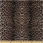 Viva Hatchi Sweater Knit Leopard Brown