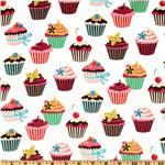 BJ-602 Sweet Tooth Cupcakes Ivory