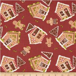 Holiday Novelties Gingerbread Houses Brown