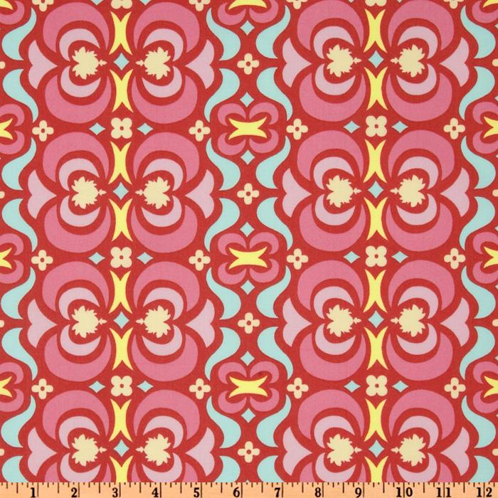 Amy Butler Midwest Modern II Garden Maze Red