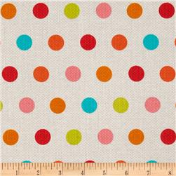 Michael Miller Textured Basics Cool Dots Multi