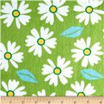 Minky Cuddle Izzy Header Blossom Green